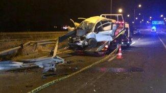 Urfa'da kaza: 1 ölü, 2 yaralı