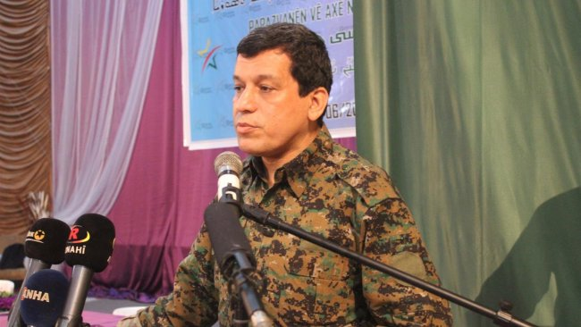 DSG Komutanı Mazlum Ebdi: Yeniden yapılanmaya hazırlanıyoruz!