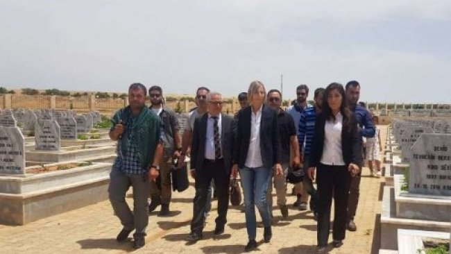Fransız heyetten Rojava'ya ziyaret