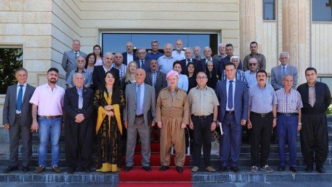 Başkan Barzani: Aydınlar ve sanatçıların rolü siyasetçilerden daha etkili