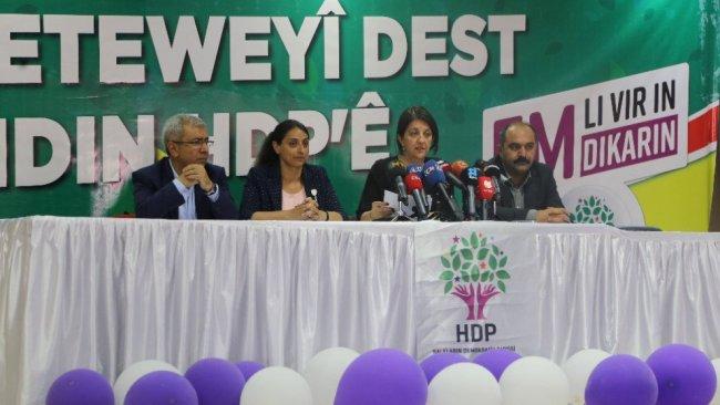 HDP'li vekillere 'çözüm deklarasyonu' fezlekesi