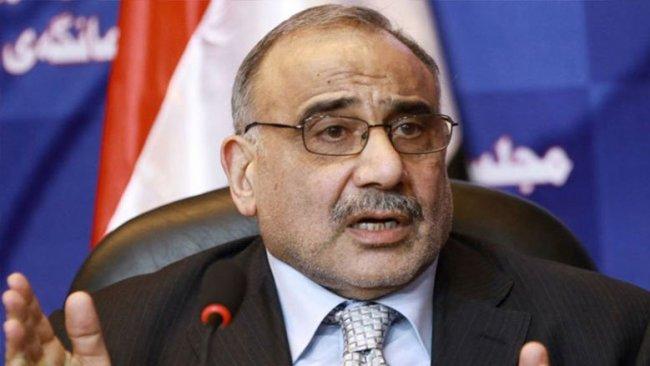 Abdulmehdi'den Kerkük açıklaması!