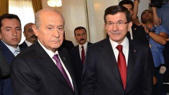Bahçeli'den Davutoğlu'na 'yeni parti' yanıtı