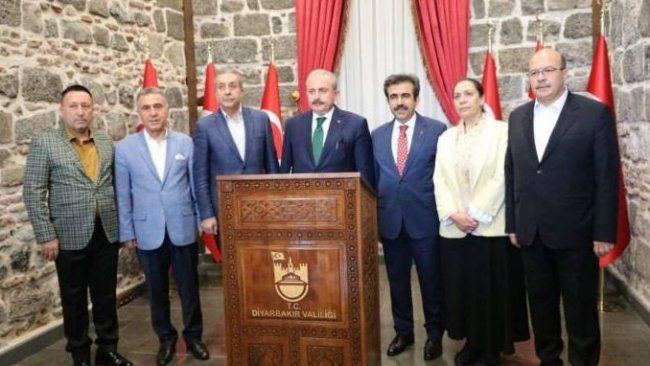 TBMM Başkanı Şentop protokolde HDP'li Mızraklı'ya yer vermedi