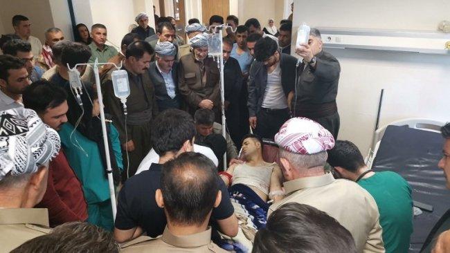 TSK'dan Sidekan'a bombardıman: 3 yaralı