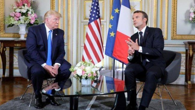ABD ve Fransa İran konusunda hemfikir