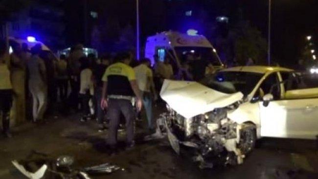 Diyarbakır'da kaza: Yaralılar var
