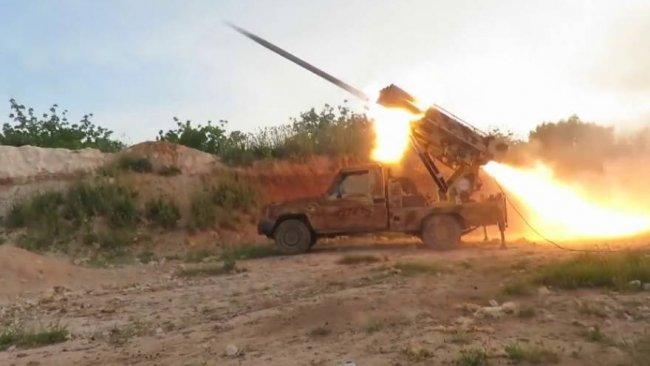 ÖSO'dan Kobane'ye roketli saldırı