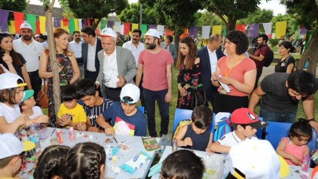 4 gün sürecek olan 'Sur Çocuk Festivali' başladı