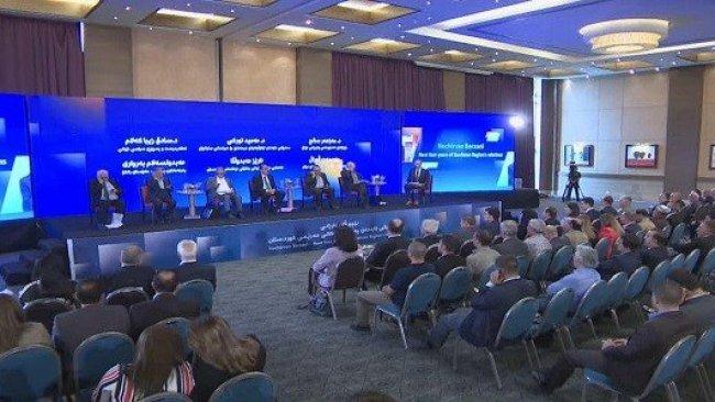 Erbil'de 'Neçirvan Barzani'nin görev süreci ve Kürdistan Bölgesi ilişkileri' gündemli panel