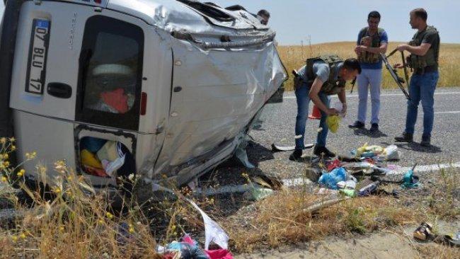 Diyarbakır'da kaza