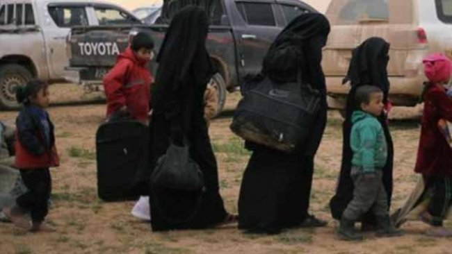 DSG, ailesi IŞİD'li olan çocukları Fransa ve Hollanda'ya teslim etti