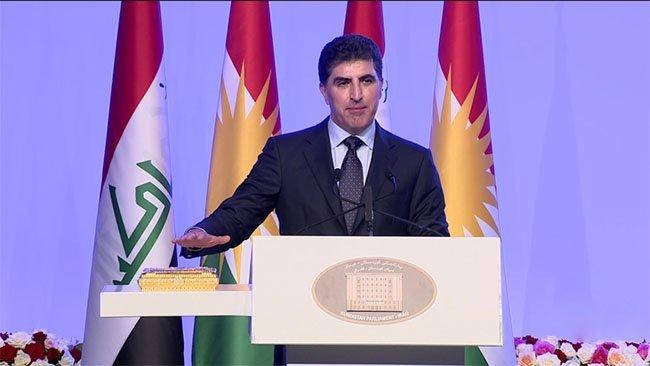 Neçirvan Barzani yemin ederek göreve başladı