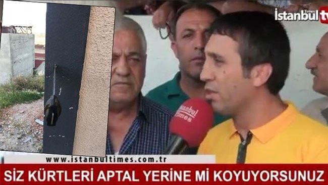 Seçimi değerlendiren Kürt vatandaşa bıçaklı tehdit