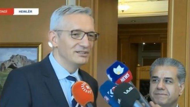 Almanya Ekonomi Bakanı Erbil'de