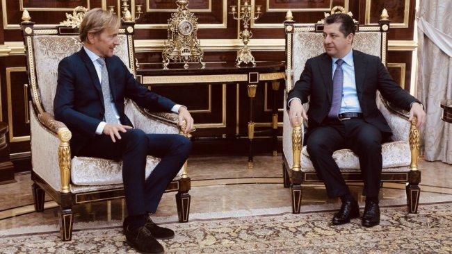 Belçika'dan Kürdistan Bölgesi Hükümeti'ne destek