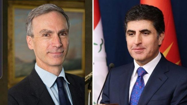 İngiltere'den Neçirvan Barzani'ye tebrik telefonu