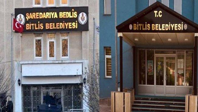 Bitlis'te kaldırılan tüm Kürtçe tabelalar yerlerine takılacak