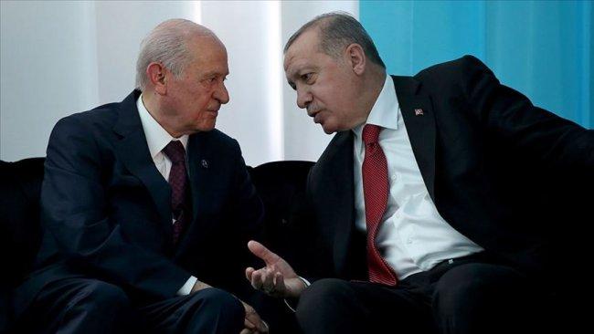Bahçeli, Erdoğan'a 'Kürdistan' rahatsızlığını iletti