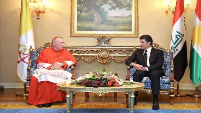 Vatikan'dan Neçirvan Barzani'ye kutlama