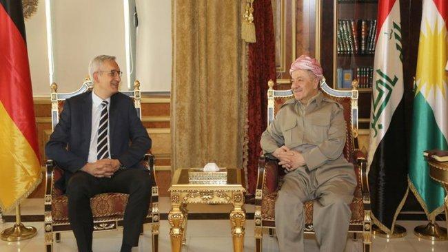 Başkan Mesud Barzani'den Almanya'ya teşekkür