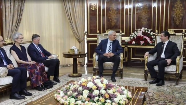 Mesrur Barzani: Çözüm için diyalogdan yanayız