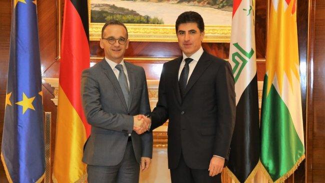 Almanya'dan Neçirvan Barzani'ye tebrik mektubu