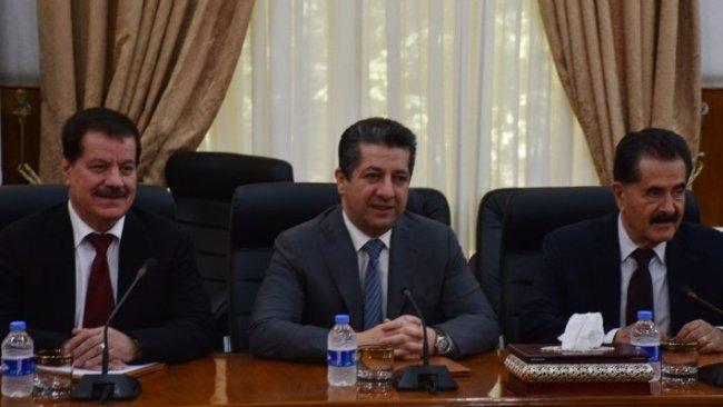 Mesrur Barzani KDP Politbürosu ile bir araya geldi