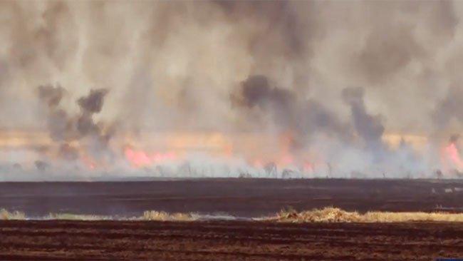 Rojava'da katliam gibi yangın! 9 ölü 17 yaralı