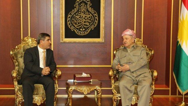 Başkan Mesud Barzani Ulusal Koalisyon heyetini kabul etti