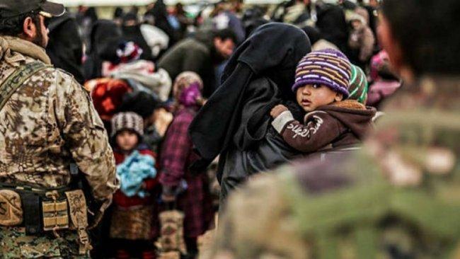 DSG, ailesi IŞİD'li 400 kadın ve çocuğu ülkelerine gönderdi