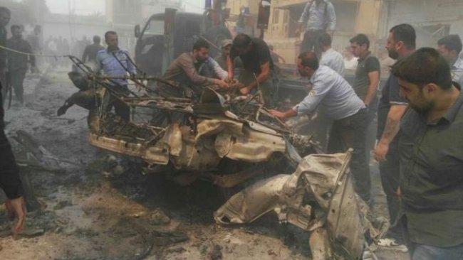 Kamışlo'da patlama: Yaralılar var