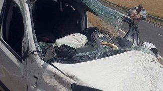 Diyarbakır'da kaza: 1 ölü, 3 yaralı