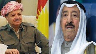 Kuveyt Emiri ve Başkan Barzani telefonda görüştü