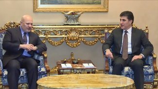 Neçirvan Barzani BM heyetini kabul etti