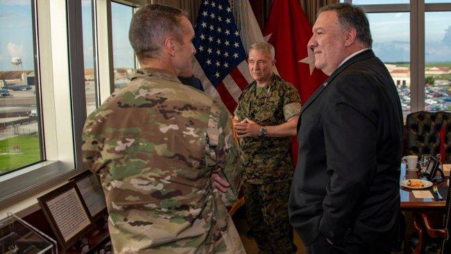 Pompeo, Pentagon komutanlarıyla İran'ı görüştü