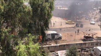 Afrin'de ÖSO komutanına bombalı saldırı