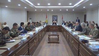 Peşmerge Bakanlığı ve Uluslararası Koalisyon arasında toplantı