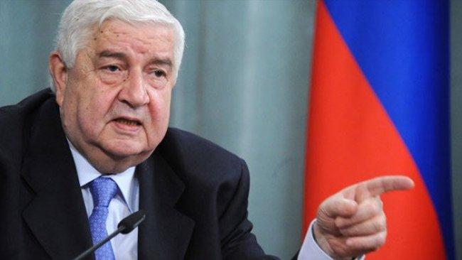 Suriye dışişleri bakanından Türkiye'ye diyalog Şartı