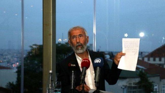 Ali Kemal Özcan, Abdullah Öcalan ile görüşmesini anlattı
