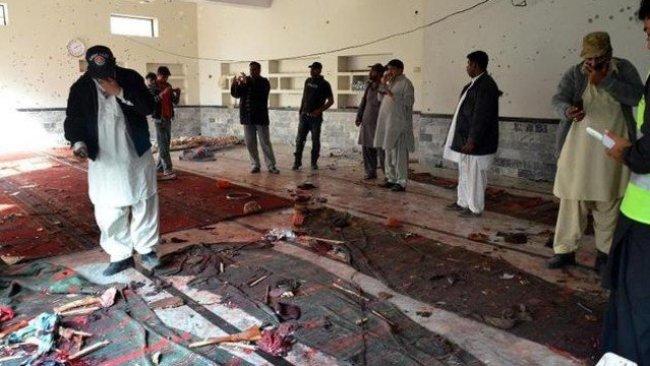 Bağdat'ta camide patlama
