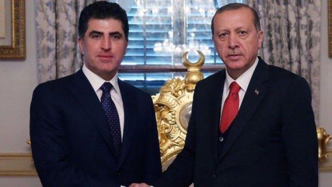 Erdoğan açıkladı: Neçirvan Barzani bugün Türkiye'de olacak
