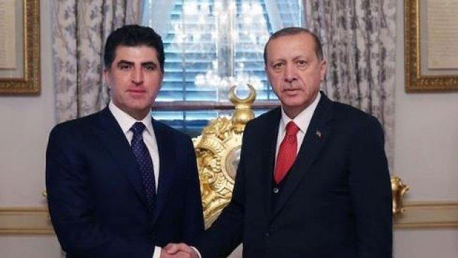 Neçirvan Barzani ile Erdoğan görüşmesi başladı