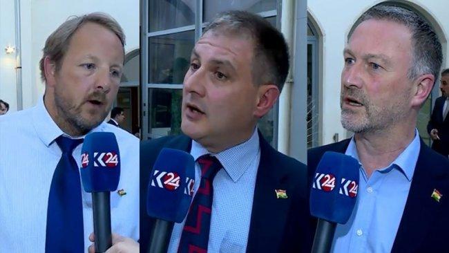 İngiliz parlamenterler: Kürtlerle ortak sorumluluğumuz var