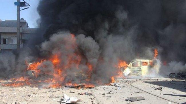 Azez'de iki bombalı saldırı