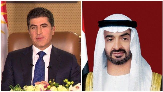 BAE'den Başkan Neçirvan Barzaniye tebrik telefonu