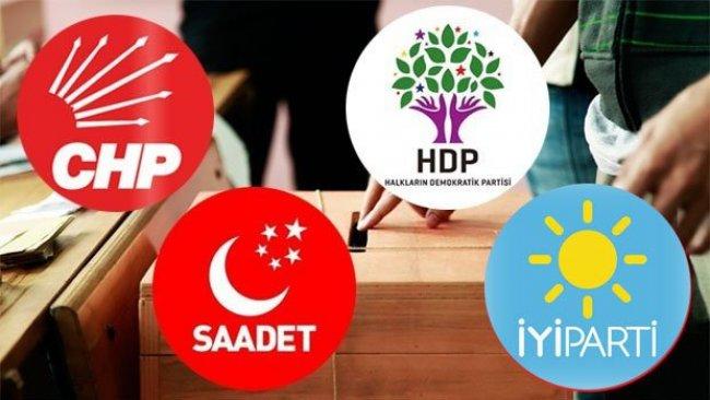 4 Partiden ortak adım