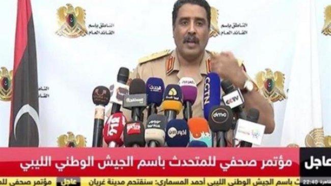 Hafter: Libya'da Türk yapımı İHA'yı düşürdük