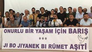 Kürt illerindeki STK'lardan barış için 'çözüm süreci' çağrısı