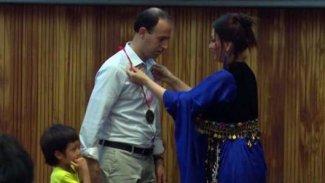 Kürt profesöre 'Altın Halk Ödülü' verildi